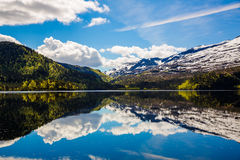 Beautiful Nature Norway. Stock Photos