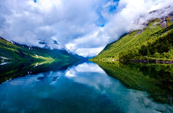 Beautiful Nature Norway. Royalty Free Stock Image