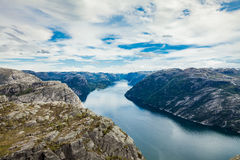 Beautiful Nature Norway - Sognefjorden. Royalty Free Stock Image