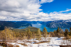 Beautiful Nature Norway - Sognefjorden. Stock Photography