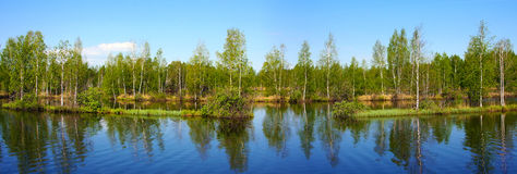 Beautiful nature, panoramic scenery royalty free stock photos