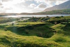 Beautiful nature scene around Connemara National Park
