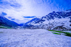 Beautiful nature scenery with melting glacier Royalty Free Stock Image
