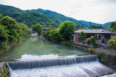 Beautiful nature scenic view in Japan Stock Images