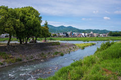 Beautiful nature scenic view in Japan Stock Photography