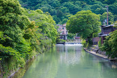 Beautiful nature scenic view in Japan Stock Photo