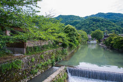 Beautiful nature scenic view in Japan Royalty Free Stock Photo