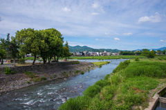 Beautiful nature scenic view in Japan Stock Photos