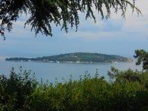 Beautiful nature & sea & island view. Princes islands, in the Sea of Marmara stock photos