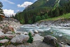Beautiful nature and streams Royalty Free Stock Photo