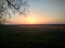 Beautiful nature sunset Royalty Free Stock Photos