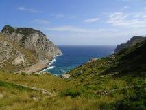 Beautiful nature on the way to Cap de Formentor, Mallorca. Beautiful nature on the way to the Cap de Formentor, Mallorca, Ballears Royalty Free Stock Photos