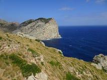 Beautiful nature on the way to Cap de Formentor, Mallorca. Beautiful nature on the way to zhe Cap de Formentor, Mallorca Royalty Free Stock Images