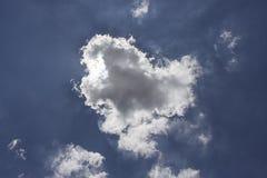 Beautiful Nature white cloud on blue sky background in daytime,. Rainy season,Thailand Royalty Free Stock Photos