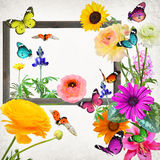 Beautiful nature wold art abstract Stock Images