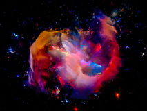 Beautiful Nebula Royalty Free Stock Photos