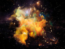 Beautiful Nebula Royalty Free Stock Photo