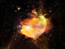 Beautiful Nebula Royalty Free Stock Images