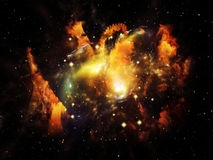 Beautiful Nebula Royalty Free Stock Photography
