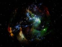 Beautiful Nebula Stock Photo