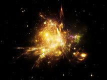 Beautiful Nebula Stock Photography