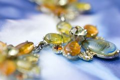 Beautiful necklace. Royalty Free Stock Photography