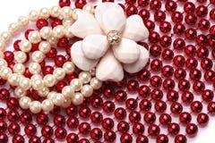 Beautiful necklace Stock Image