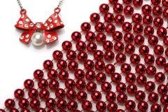Beautiful necklace Stock Photos