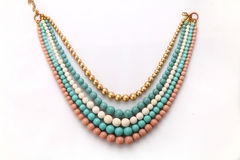 Beautiful necklace Royalty Free Stock Photos