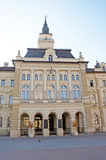 Beautiful Neo-Romanesque building of City Hall of Novi Sad Royalty Free Stock Photos