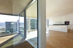 Beautiful new apartment Stock Images