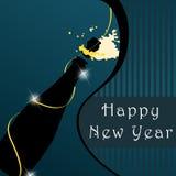 Beautiful New Year's Illustration. Vector beautiful New Year's Illustration royalty free illustration