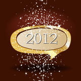 Beautiful New Year's illustration Stock Photo