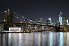 Beautiful New York City Royalty Free Stock Photos