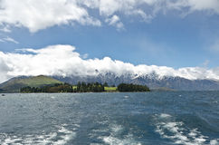Beautiful New Zealand. Queenstown. Royalty Free Stock Images