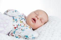 Beautiful newborn baby Stock Photos