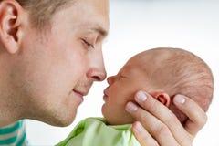 Beautiful newborn baby Stock Image