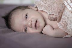 Beautiful newborn Stock Photos