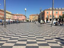 Beautiful Nice, France Royalty Free Stock Images