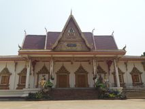 inpang temple beautiful nice good thailand stock photo