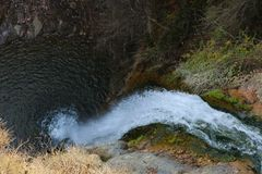 Beautiful and nice Waterfall stock image