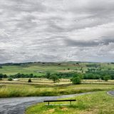 Beautiful Nidderdale. View over Nidderdale Stock Images