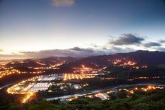 Beautiful night scene of Taiwan Royalty Free Stock Photo