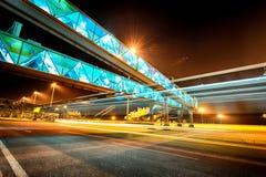 Beautiful night scenery of NCIA Stock Images