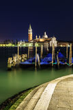 Beautiful night in Venice Royalty Free Stock Photos