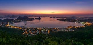 Free Beautiful Night View Of Rio De Janeiro Stock Photos - 74667593