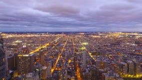 Beautiful night view over the city of Philadelphia in the evening - PHILADELPHIA - PENNSYLVANIA - APRIL 7, 2017 Stock Image