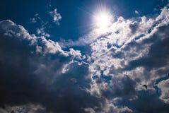 Beautiful nimbus Stock Photo