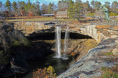 Beautiful Noccalula Falls Stock Images