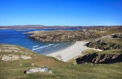 Beautiful northern beach, Durness area, Scotland Stock Photo